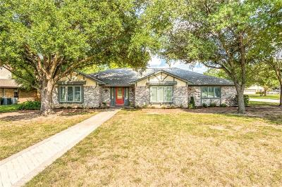 Colleyville Single Family Home Active Option Contract: 3701 Rosebriar Lane