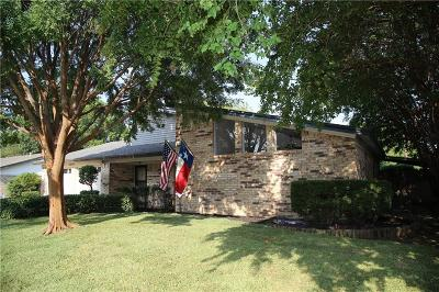 Euless Single Family Home Active Option Contract: 1210 Meadowview Drive