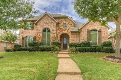 Frisco Single Family Home Active Option Contract: 11039 Apple Valley Drive