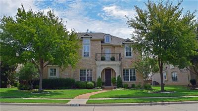 Frisco Single Family Home Active Contingent: 9900 Heather Ridge Trail