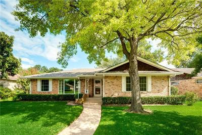 Dallas Single Family Home Active Option Contract: 8464 Sweetwood Drive