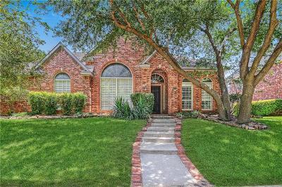 Allen Single Family Home Active Option Contract: 702 Buffalo Springs Drive
