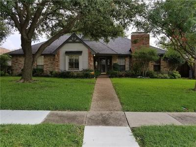 Plano Single Family Home Active Option Contract: 4504 Hartford Drive