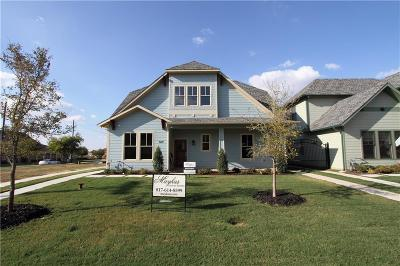 Grapevine Single Family Home For Sale: 609 E Wall Street