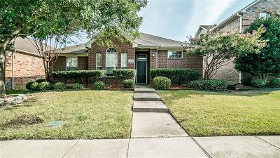McKinney Single Family Home Active Option Contract: 6225 White Pine Drive