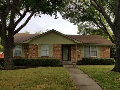 Plano Single Family Home Active Option Contract: 2608 Meandering Way
