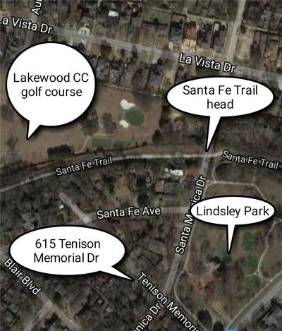 Dallas Single Family Home Active Option Contract: 615 Tenison Memorial Drive