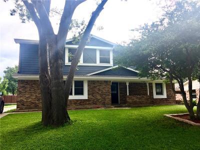 Richardson Single Family Home Active Contingent: 509 Cap Rock Drive