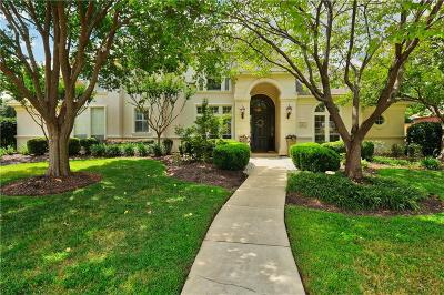Southlake Single Family Home Active Option Contract: 610 Timber Lake Circle