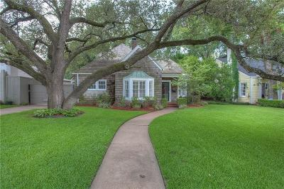 Fort Worth Single Family Home For Sale: 4925 Dexter Avenue