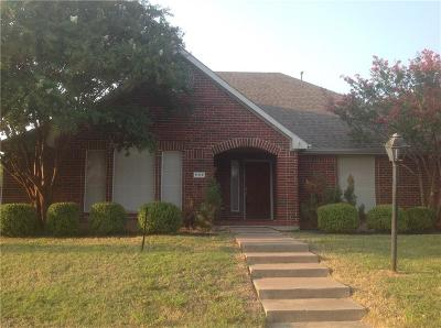 Rowlett Single Family Home Active Option Contract: 7117 Montego Drive