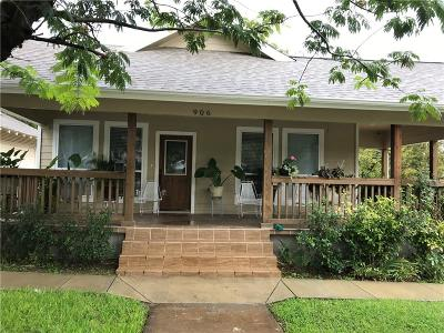 North Fort Worth Single Family Home Active Option Contract: 906 Park Street
