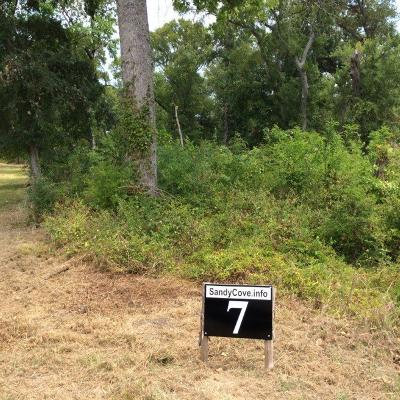 Streetman Residential Lots & Land For Sale: 7 Sandy Cove