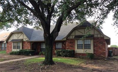 North Richland Hills Multi Family Home Active Option Contract: 7829 Cardinal Court