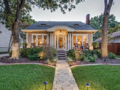 McKinney Single Family Home Active Option Contract: 503 N Church Street