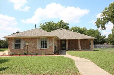 Wylie Single Family Home Active Option Contract: 101 N Cottonbelt Avenue