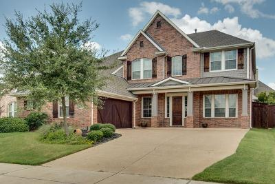 Hurst, Euless, Bedford Single Family Home Active Contingent: 1018 Lost Valley Drive