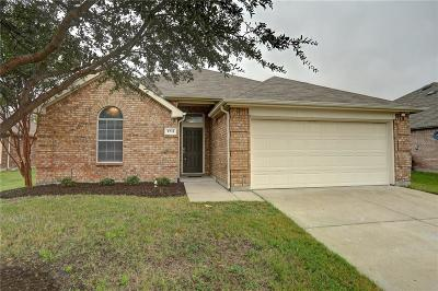 Melissa Single Family Home For Sale: 3711 Redwood Circle