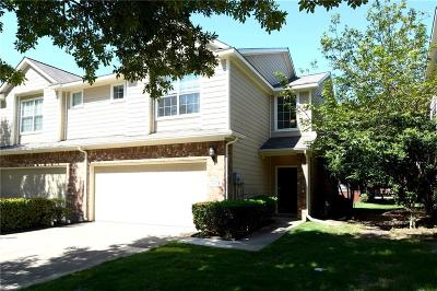 Plano Townhouse Active Option Contract: 8513 Forest Highlands Drive