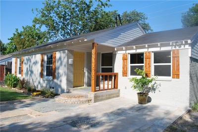 Dallas Single Family Home For Sale: 10509 Wood Dale Drive