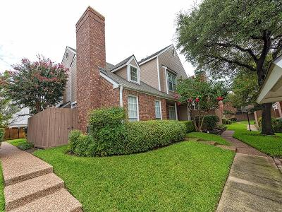 Dallas Townhouse Active Contingent: 17910 Windflower Way #2301