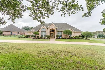 Burleson Single Family Home Active Option Contract: 133 Bonniebrae Court