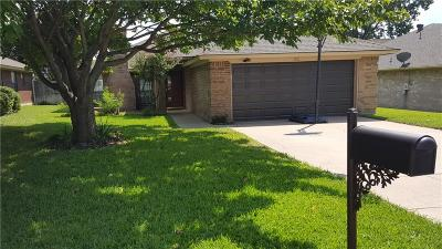 North Richland Hills Single Family Home For Sale: 7512 Sean Drive