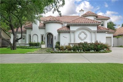 Dallas Single Family Home For Sale: 6207 Northwood Road