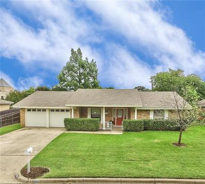 Bedford Single Family Home Active Option Contract: 2508 Spring Valley Drive