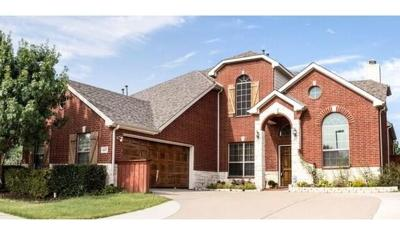 Sachse Single Family Home Active Option Contract: 6417 Falcon Crest Lane