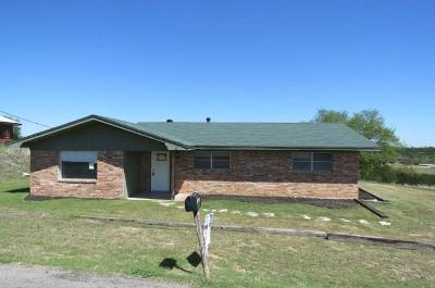 Somervell County Single Family Home Active Option Contract: 1830 County Road 1011