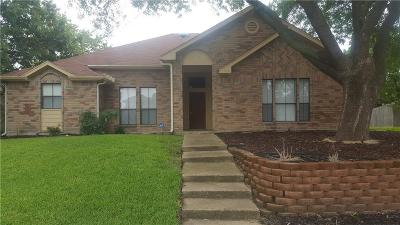 Rowlett Single Family Home Active Option Contract: 8714 Wood Glen Drive