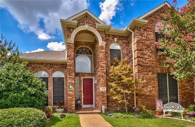 Plano Single Family Home Active Option Contract: 7725 Roaring Ridge Drive