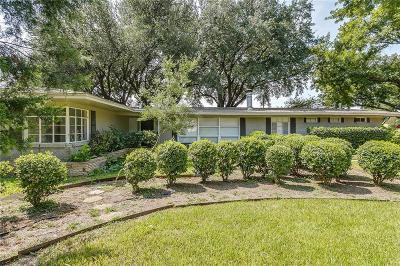 Fort Worth Single Family Home For Sale: 1972 Bella Vista Drive