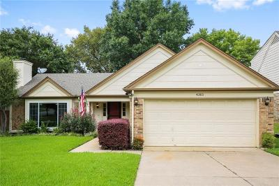 Grapevine Single Family Home Active Option Contract: 4305 Kenwood Drive