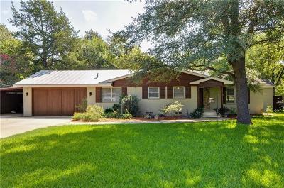Dallas Single Family Home For Sale: 9330 Alta Mira