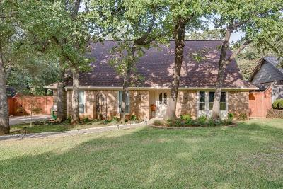 Grapevine Single Family Home Active Option Contract: 2910 Creekwood Drive
