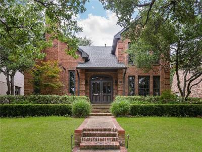 University Park Single Family Home For Sale: 3115 Westminster Avenue