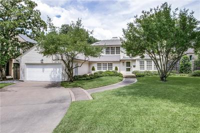 Greenway Park, Greenway Parks, Greenway Parks Add Single Family Home For Sale: 5345 Nakoma Drive