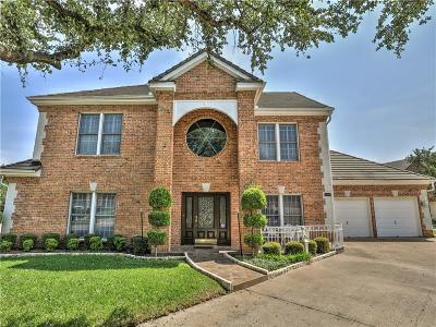 Benbrook Single Family Home Active Option Contract: 5953 River Bend Drive