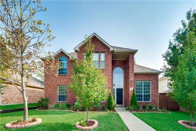 Frisco Single Family Home Active Option Contract: 9707 Saddle Drive