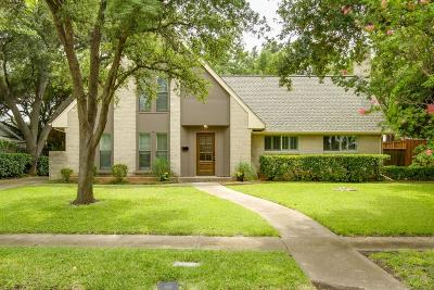 Farmers Branch Single Family Home Active Option Contract: 12217 Veronica Road