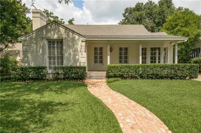 Highland Park Single Family Home For Sale: 4606 S Versailles Avenue