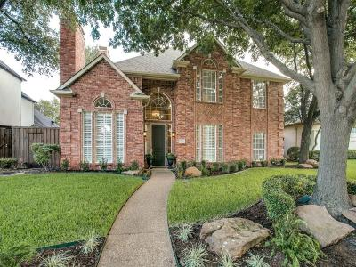 Plano Single Family Home Active Contingent: 5976 Edinburgh Drive