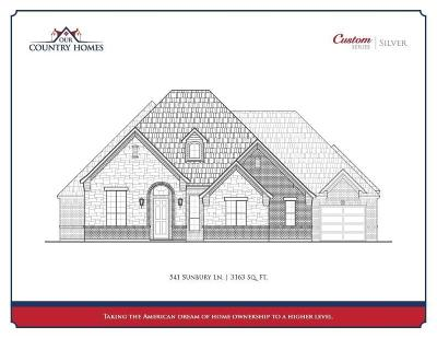 Prosper Single Family Home For Sale: 541 Sunbury Lane