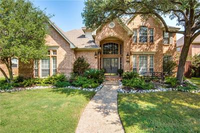 Coppell Single Family Home Active Option Contract: 330 Walnut Grove Lane