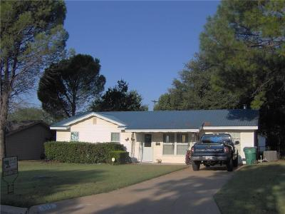 Eastland Single Family Home For Sale: 609 S Dixie