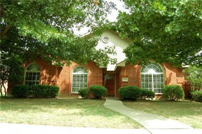 Frisco Single Family Home Active Option Contract: 8204 Burleigh Street
