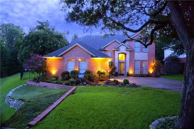 Mansfield Single Family Home Active Option Contract: 21 Brook Arbor Court