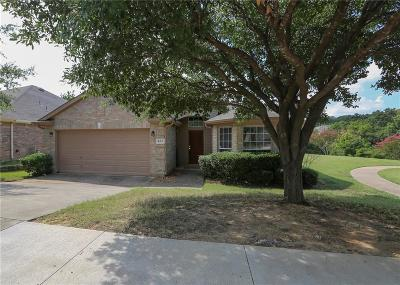 Euless Single Family Home Active Option Contract: 400 Flint Court